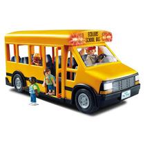 Brinquedos Menina Menino Playmobil Ônibus Escolar Luz 5680
