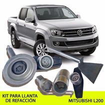 Promoción Enero! Kit Seguridad Llanta De Refacción Vw Amarok