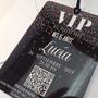 Invitaciones 15 Años Tarjetas Credenciales Vip Pastificada