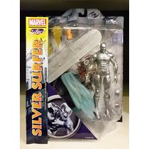Tk0 Toy Marvel Select Silver Surfer Surfista Prateado
