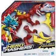 Dinosaurio Jurassic World Hero Mashers Hybrid Para Armar
