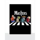 Placa Decorativa Engraçada - The Masters - Beatles