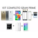 Kit Carcaça + Tela + Lcd + Home Gran Prime G530 Tv + Bateria