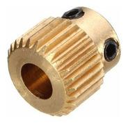 Hobbed Mk8 Bolt Diametro Interno 5mm - De Bronce 26 Dientes