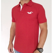 Kit 5 Camisa Polo Blusa Hollister Quiksilver Sommer M Office