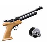 Pistola A Co2 5.5 Trae Cargador De 7 Tiros A Gas Comprimido