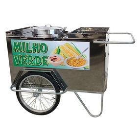 Carrinho Ambulante De Milho Verde