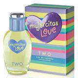 Mujercitas Love Two Edt En Spray Perfume Para Nenas 50 Ml