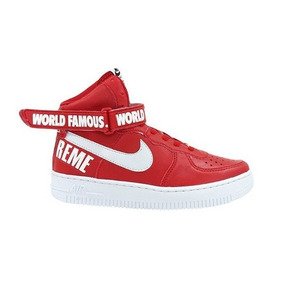 Tênis Masculino Nike Air Force Cano Alto Supreme 2pç!
