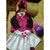 Disfraz Disfraces Draculaura Monster High Halloween Niñas