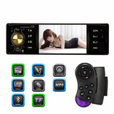 Radio Mp3 Mp5 Bluetooth Pantalla Video Soporta Cámara Traser