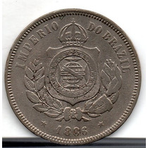 Moeda 200 Reis 1889 Ref 032 Rara