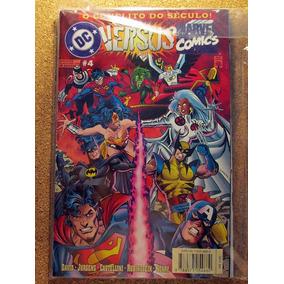 Dc Vs Marvel Comics: O Conflito Do Século N° 04