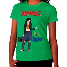 Camiseta Camisa Ramones We
