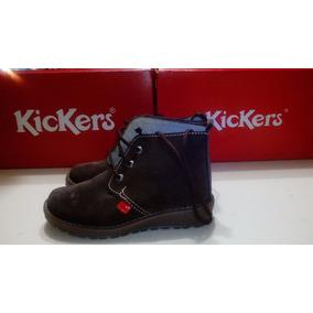 Zapatos Botin Casuales Kickers Niña Talla 30 (18cm Ref 207