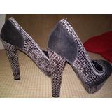 Vendo Hermosos Zapatos Piel Culebra