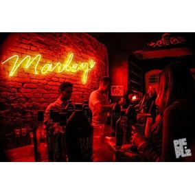 Placas Letreiros Luminosos Neon Bar Harley Coca Budweiser
