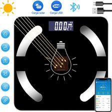 Báscula Medidora De Grasa Corporal Inteligente C/ Bluetooth