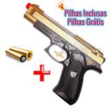 Rifle Arminha De Luzes E Sons Pistola Replica Colorida