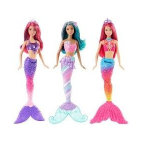 Muñeca Barbie Reinos Magicos Sirena Dhm45 Original Mattel