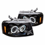 Focos Led Ford F150 04-08 Dual Halo Spec-d - Cargo Parts