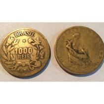 Moeda Antiga De 1000 Reis 1924