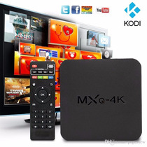 Convertidor Smart Tv Box 4k Wifi Canales Android Mxq + Kodi