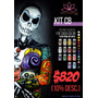 Kit Maquillaje Artistico Infantil 14 Colores! Body Art Glow