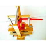 Maquina De Chinelos Completa - Corta Fura E Fresa