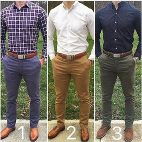 Pantalón Caballero Moda Slimfit