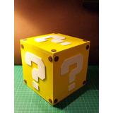 Cubo Mario Bros. Decoración - Souvenir. Guarda Todo !!!