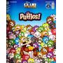 Álbum + Lote 190 Figurinhas Diferentes Club Penguin Puffles