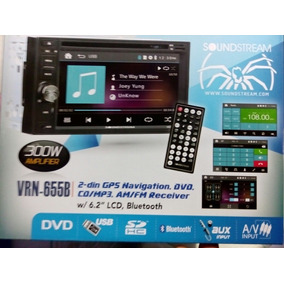 Auto Estereo Sound Strem Gps Touch Bluetooth Vrn 655b