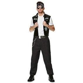Traje De Motociclista Masculino - Para Halloween, Accesorio