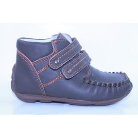 Zapatos Pingo Sandy Café Para Niño 11 A 14 Mod 5247