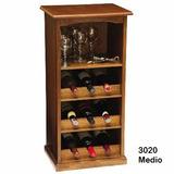 Mueble para poner botellas y copas bar muebles y for Mueble bodega