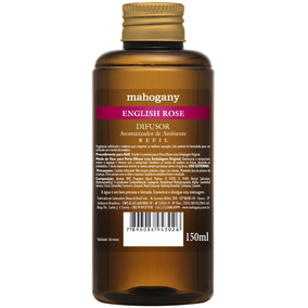 Mahogany Refil De Difusor De Ambiente English Rose 150 Ml