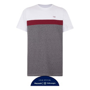Camiseta Performance Volkswagen Tsi Masculino Cinza/vinho