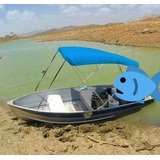 Bote O Lancha De Aluminio Lanven 14 Pies Ideal Para Pesca