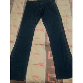 Pantalon Jeans Para Dama A La Cadera, Talla 11/12