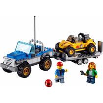 Lego - City 60082 - Remolque Del Buggy De Las Arenas
