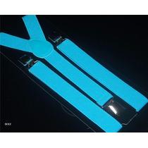 Tiradores Elasticos Unisex Regulables Accesorio Disfraz