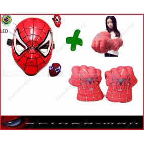 Luva E Mascara Kit Spider Mam Marvels Fret Off