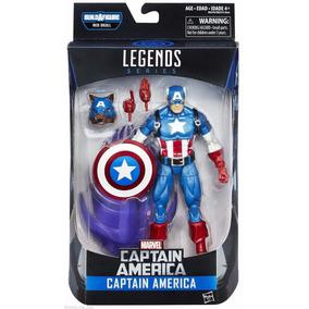 Boneco Marvel Legends Series Capitão America - Hasbro B6355