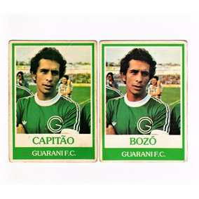 Ping Pong Futebol Cards Guarani Nº 181 Capitao Normal E Inv