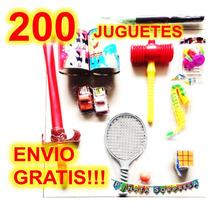 200 Juguete Economico Mayoreo Piñata Bolo Revender Regalar