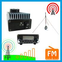 Transmisor Fm 30w + Amplificador + Antena 15 Km Profesional