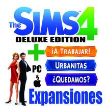 The Sims 4 Delux Edition + 3expansiones Descargable Origin