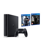 Playstation 4 Slim 500gb + Uncharted 4 + The Last Of Us