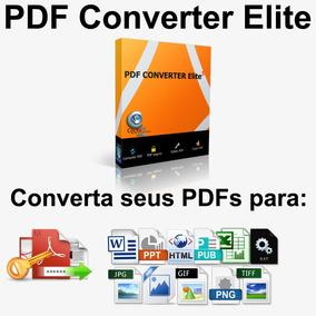 Converta Seus Pdfs Em: Word, Ecxel, Html, Batch, Imagen Etc.